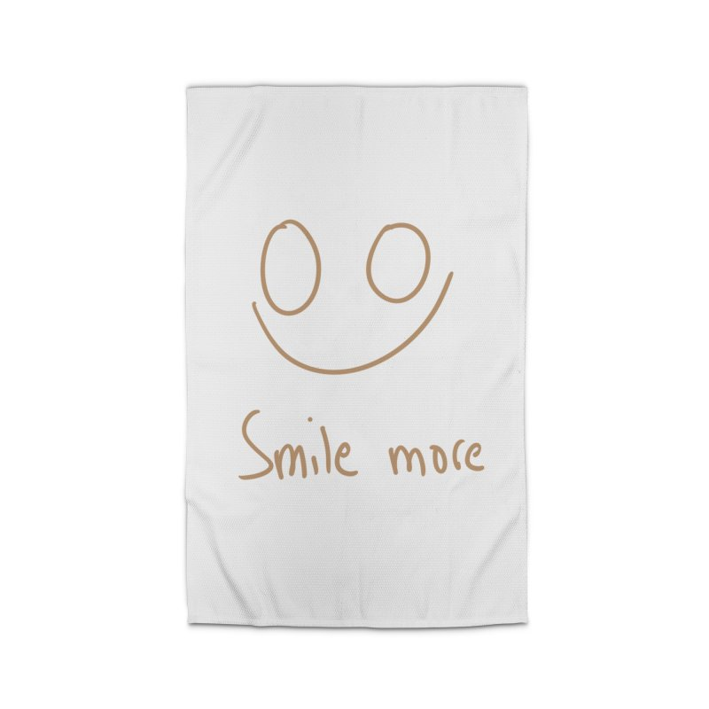 Smile more Home Rug by AdventGuard