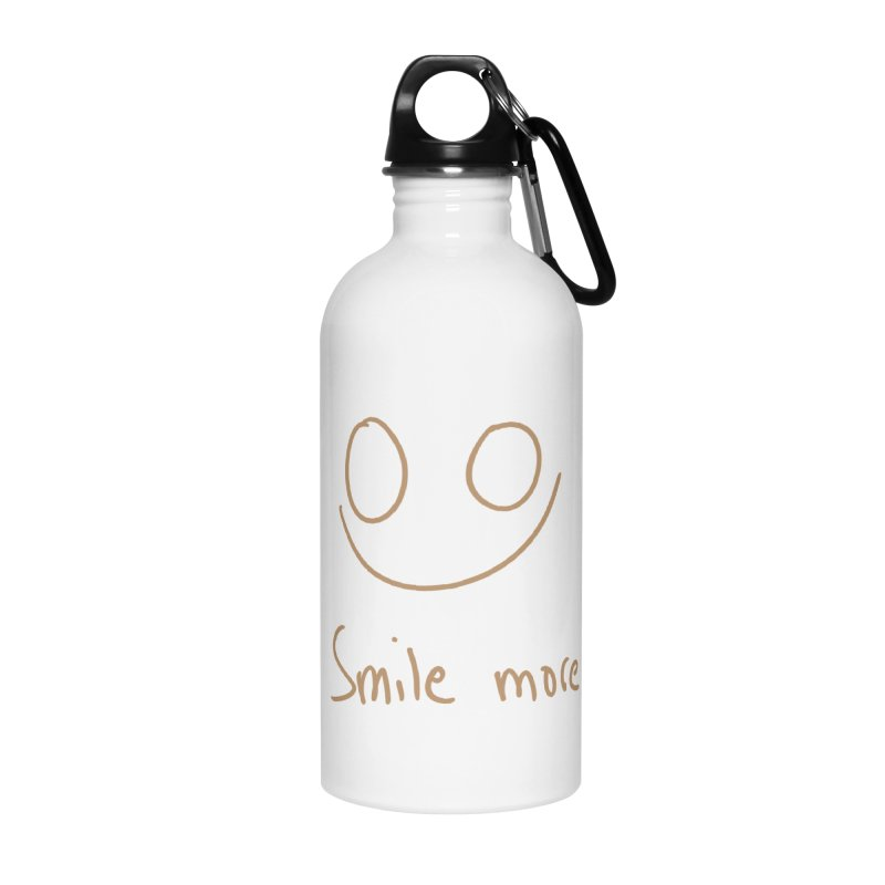 Smile more Accessories Water Bottle by AdventGuard