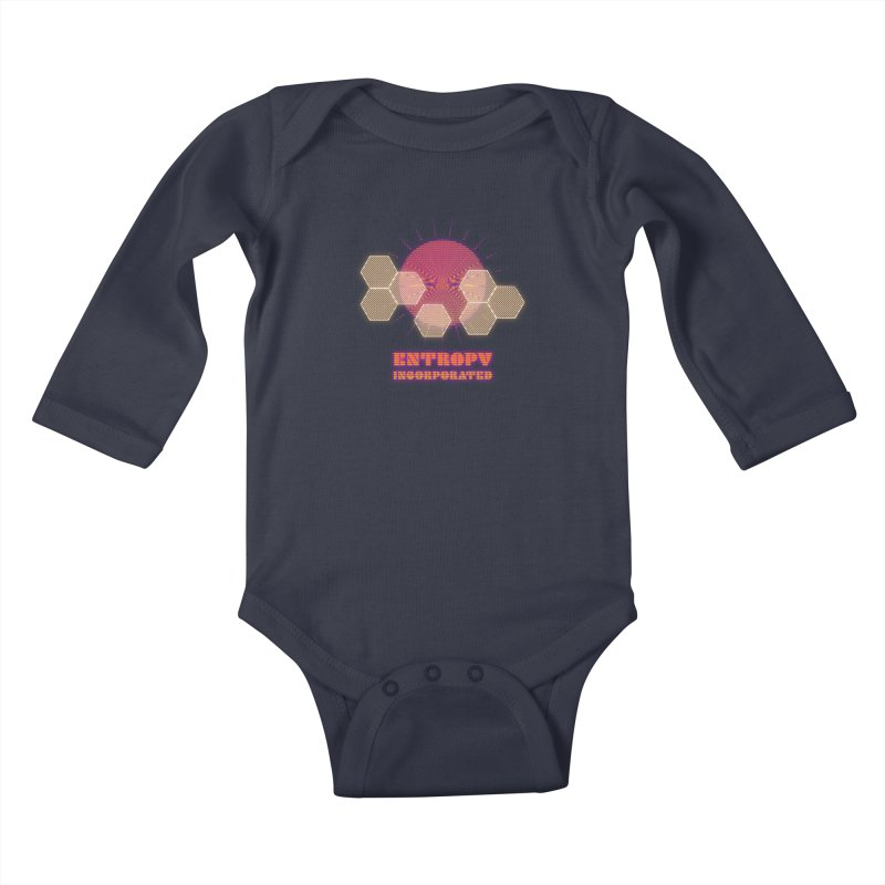 Entropy Incorporated Kids Baby Longsleeve Bodysuit by The Agora