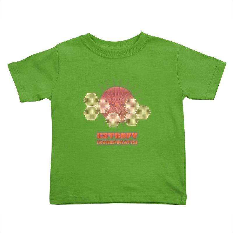 Entropy Incorporated Kids Toddler T-Shirt by The Agora