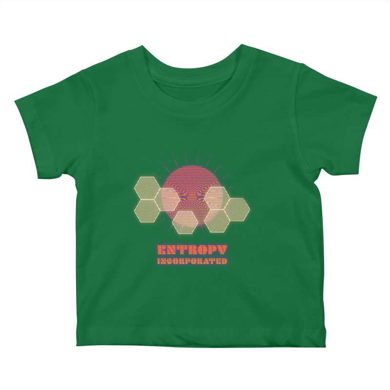 Entropy Incorporated Kids Baby T-Shirt by The Agora