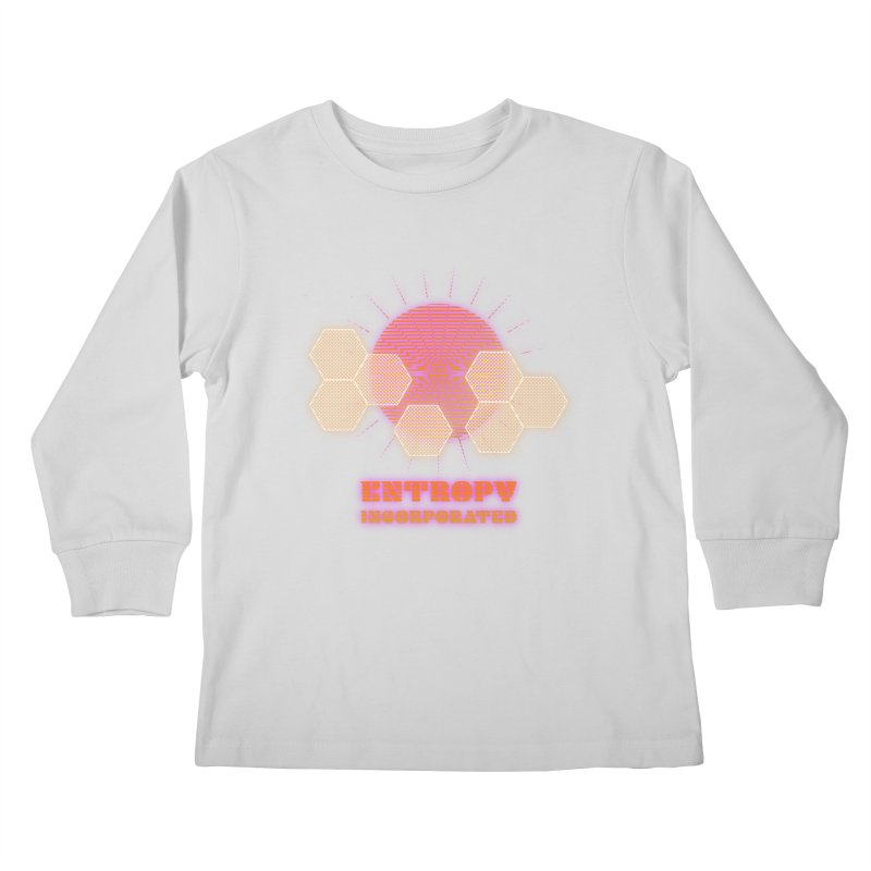 Entropy Incorporated Kids Longsleeve T-Shirt by The Agora