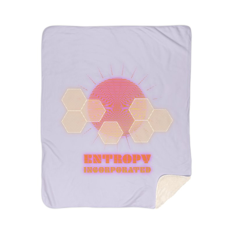 Entropy Incorporated Home Blanket by The Agora