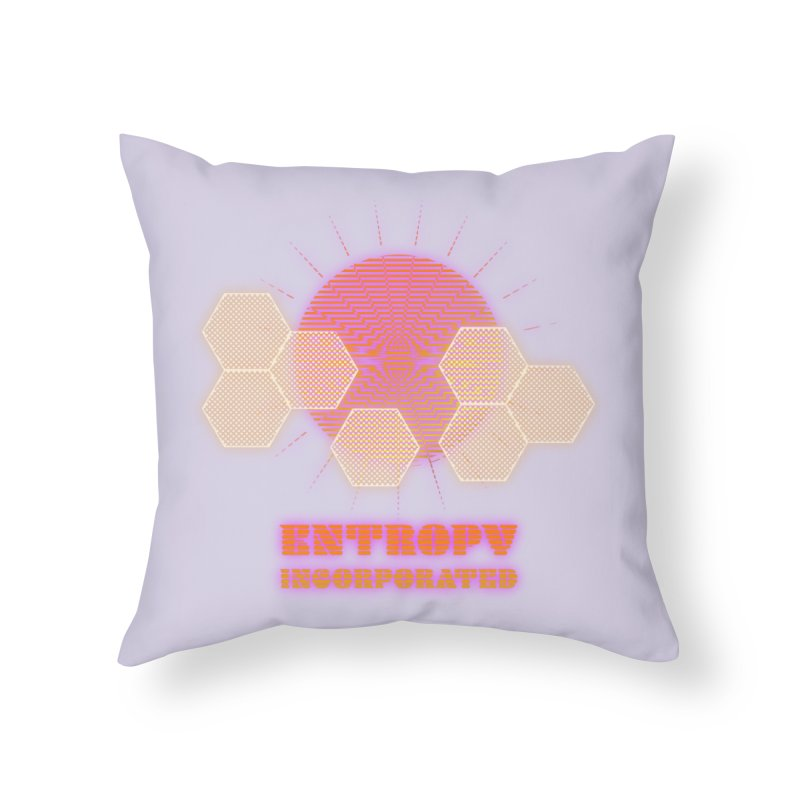 Entropy Incorporated Home Throw Pillow by The Agora