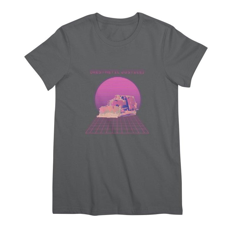 Vapor Dozer Women's T-Shirt by The Agora