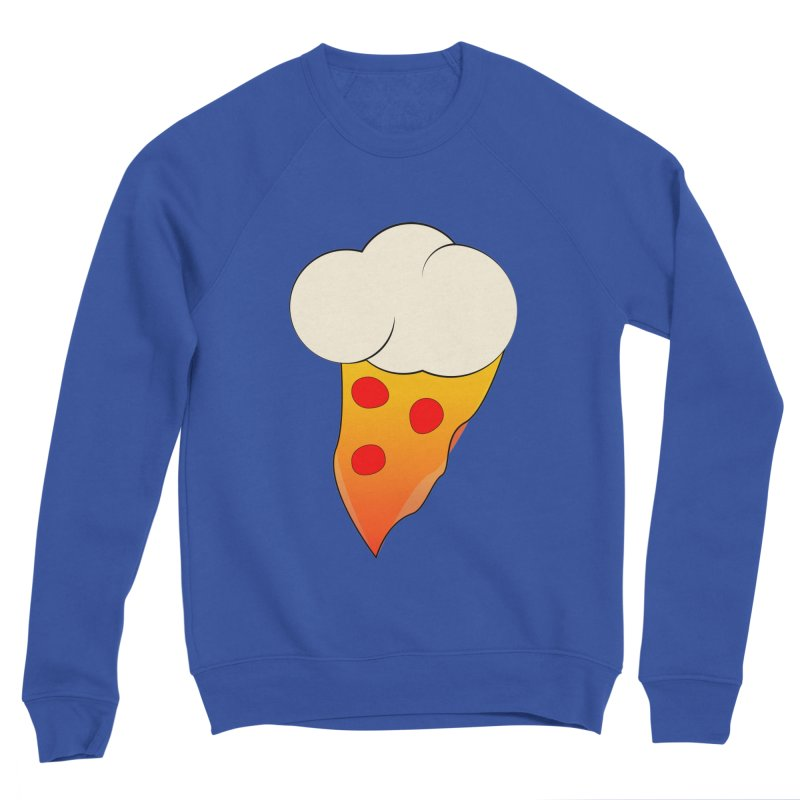 Cloudy with a Chance of Pizza Men's Sweatshirt by The Agora