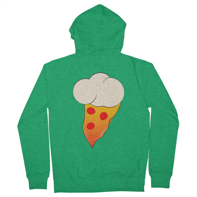 Cloudy with a Chance of Pizza Men's Zip-Up Hoody by The Agora