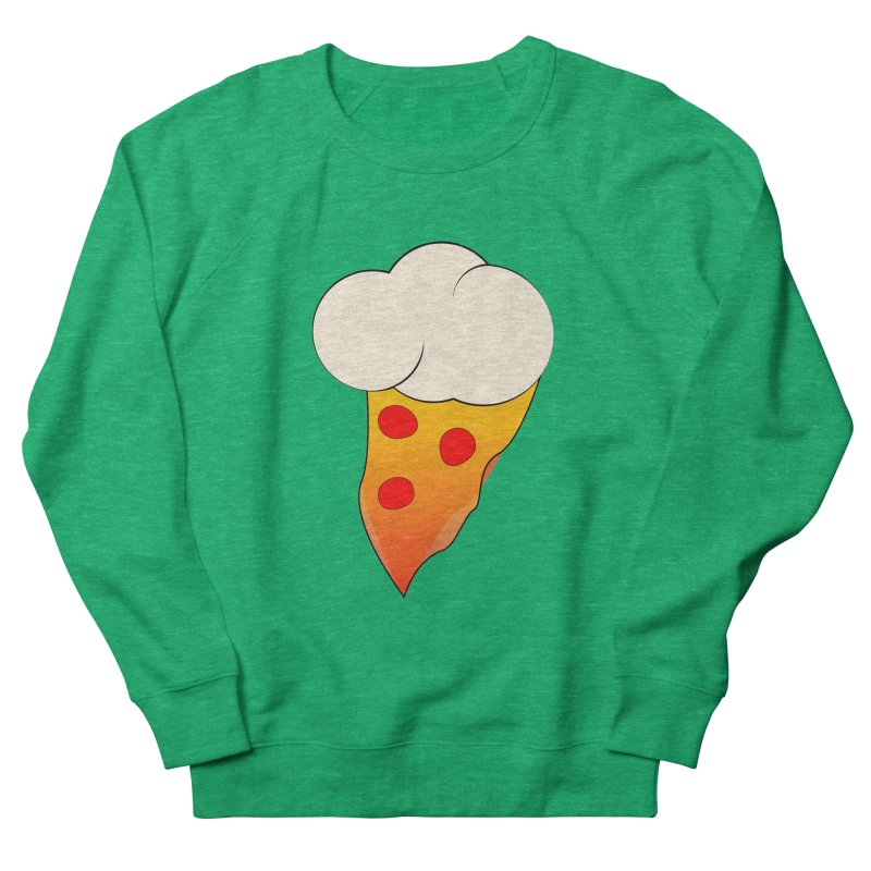 Cloudy with a Chance of Pizza Women's Sweatshirt by The Agora