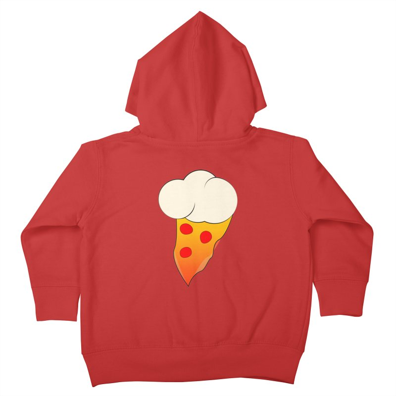Cloudy with a Chance of Pizza Kids Toddler Zip-Up Hoody by The Agora