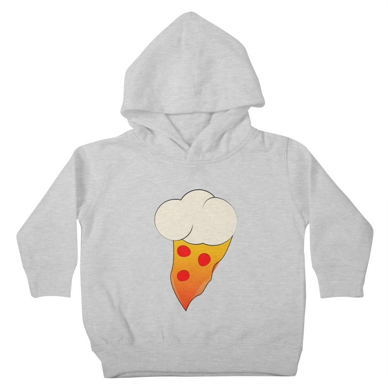 Cloudy with a Chance of Pizza Kids Toddler Pullover Hoody by The Agora