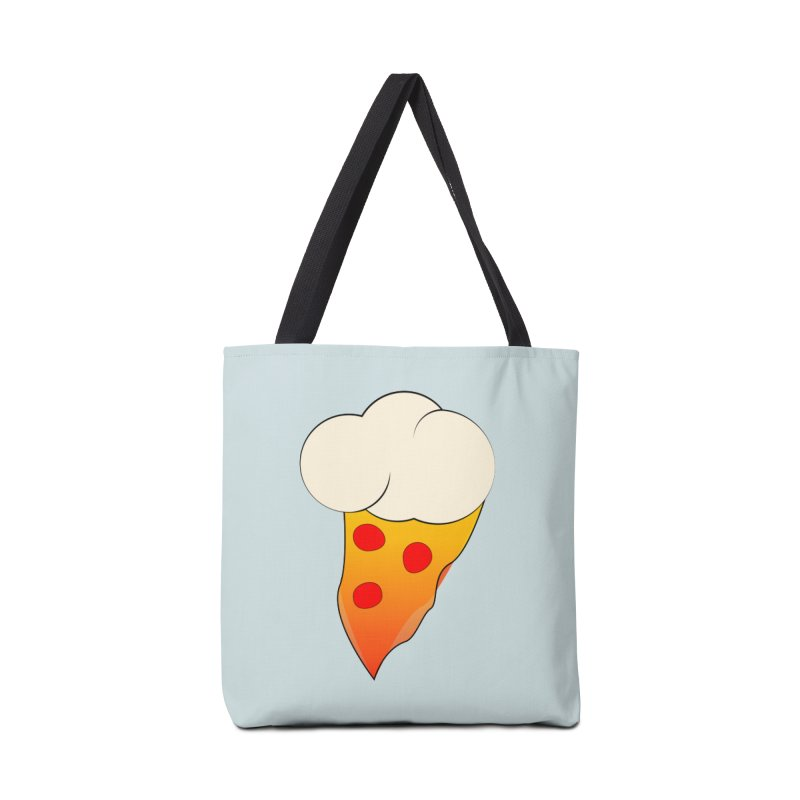 Cloudy with a Chance of Pizza Accessories Bag by The Agora