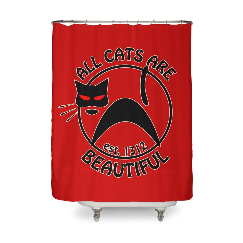ACAB Home Shower Curtain by The Agora