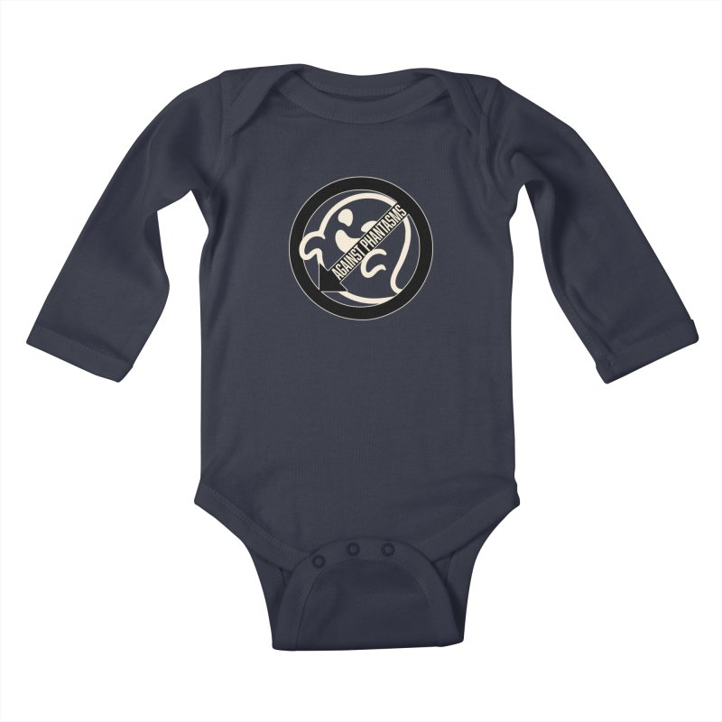 Against Phantasms Kids Baby Longsleeve Bodysuit by The Agora
