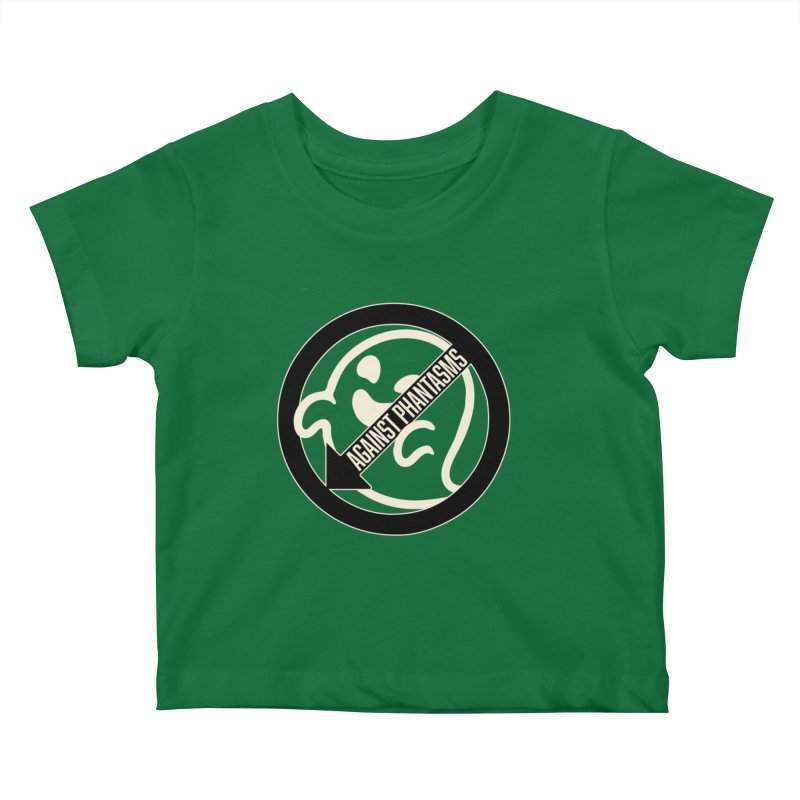 Against Phantasms Kids Baby T-Shirt by The Agora
