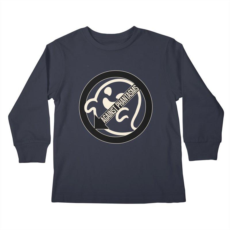 Against Phantasms Kids Longsleeve T-Shirt by The Agora