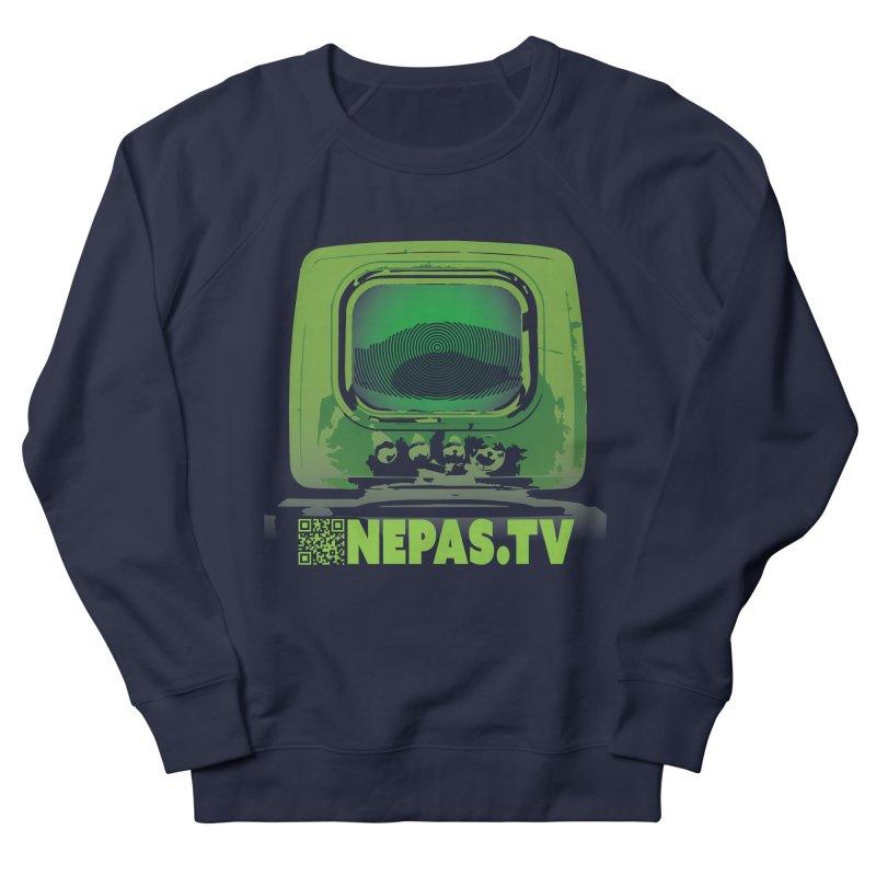 NePas.tv in Men's Sweatshirt Navy by The Agora