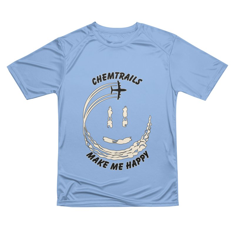 Happy Chemtrails Men's T-Shirt by The Agora