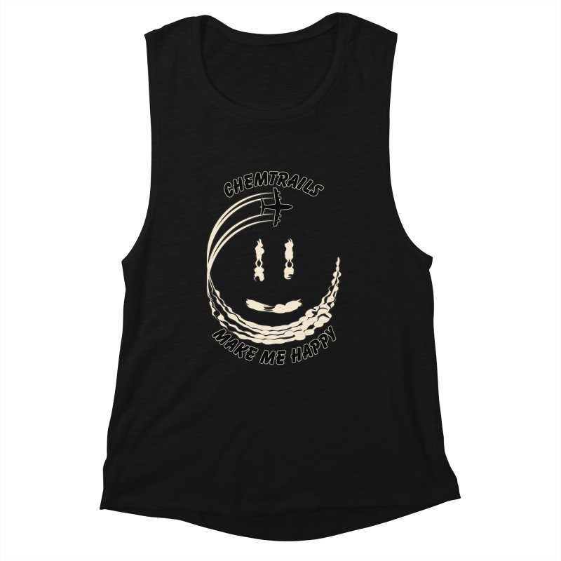 Happy Chemtrails Women's Tank by The Agora