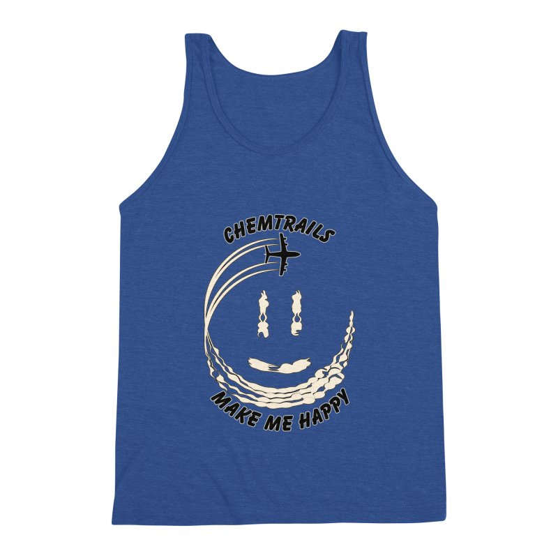 Happy Chemtrails Men's Tank by The Agora