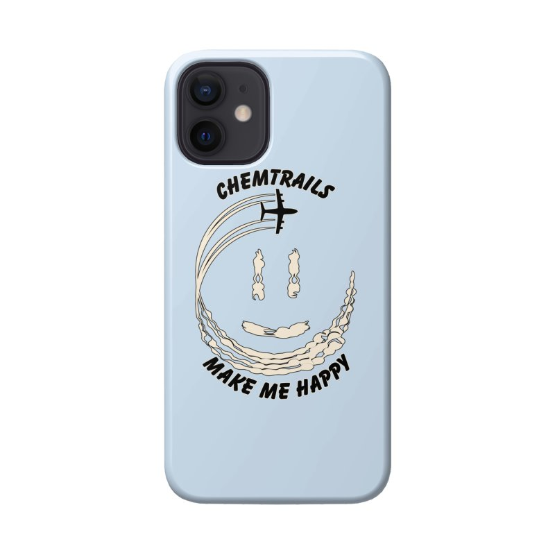 Happy Chemtrails Accessories Phone Case by The Agora