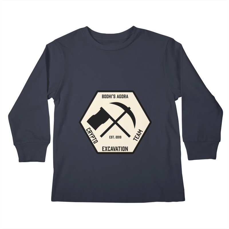 Geo Bodhi Kids Longsleeve T-Shirt by The Agora