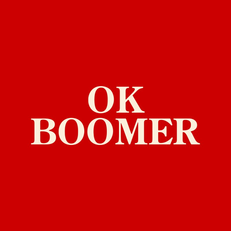 OK Boomer Accessories Mug by The Agora