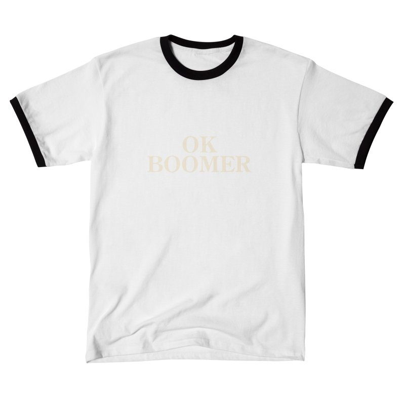 OK Boomer Men's T-Shirt by The Agora