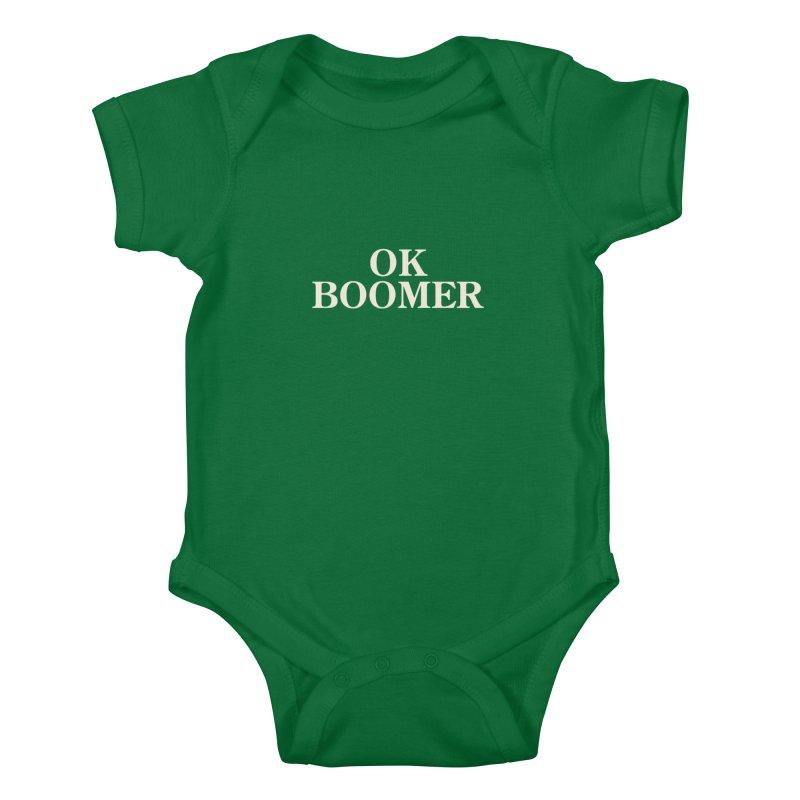 OK Boomer Kids Baby Bodysuit by The Agora