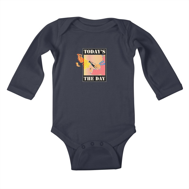Today's The Day Kids Baby Longsleeve Bodysuit by The Agora
