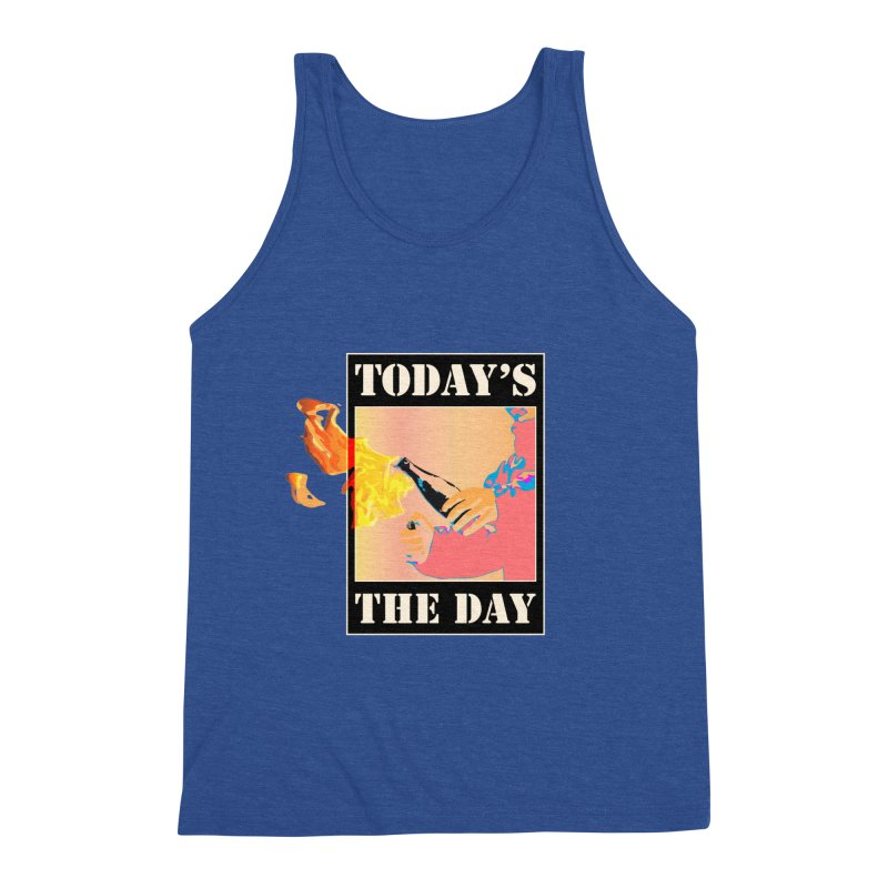 Today's The Day Men's Tank by The Agora