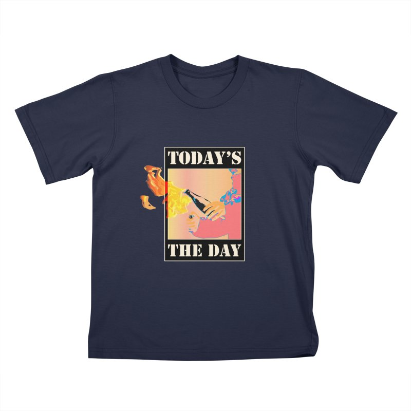 Today's The Day Kids T-Shirt by The Agora
