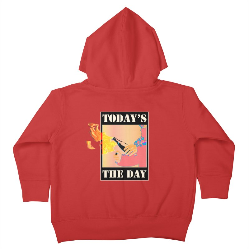 Today's The Day Kids Toddler Zip-Up Hoody by The Agora