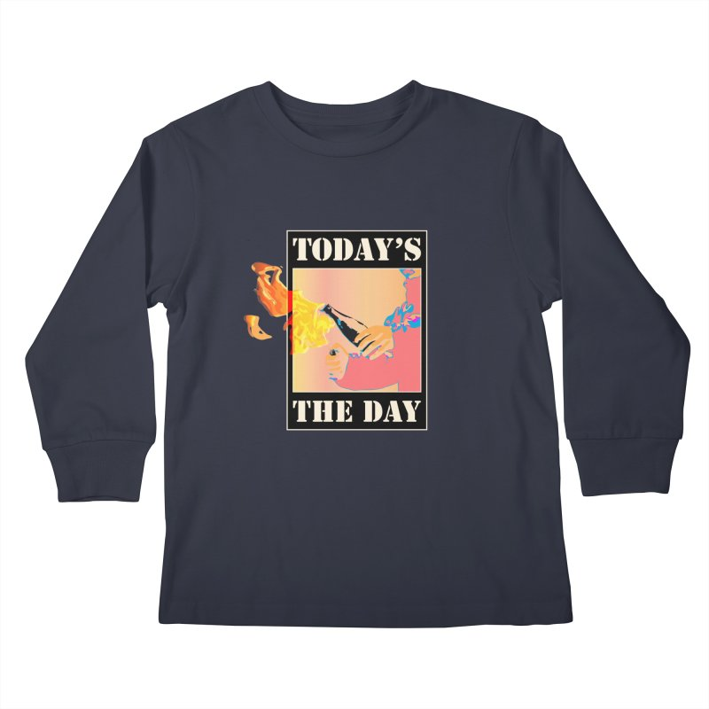 Today's The Day Kids Longsleeve T-Shirt by The Agora