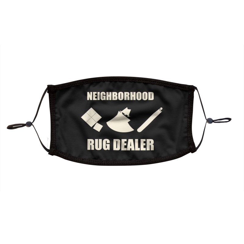 Neighborhood Rug Dealer Accessories Face Mask by The Agora