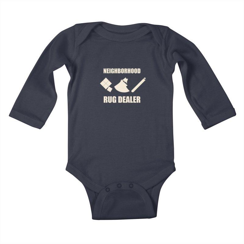 Neighborhood Rug Dealer Kids Baby Longsleeve Bodysuit by The Agora