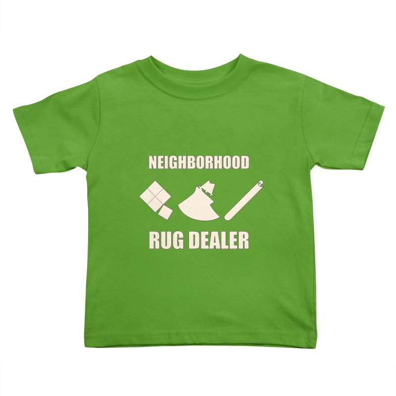 Neighborhood Rug Dealer Kids Toddler T-Shirt by The Agora