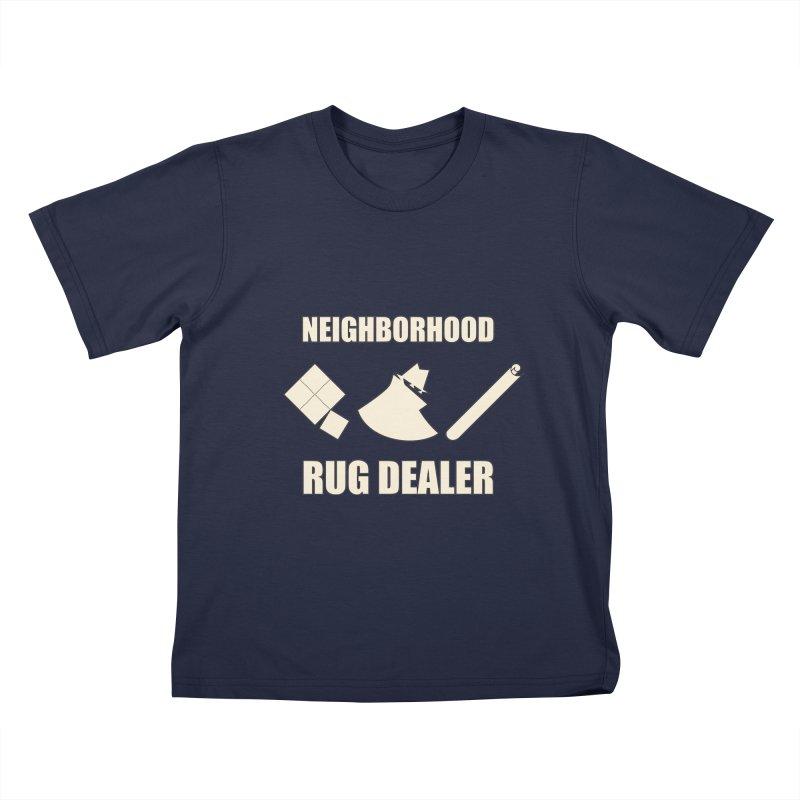 Neighborhood Rug Dealer Kids T-Shirt by The Agora