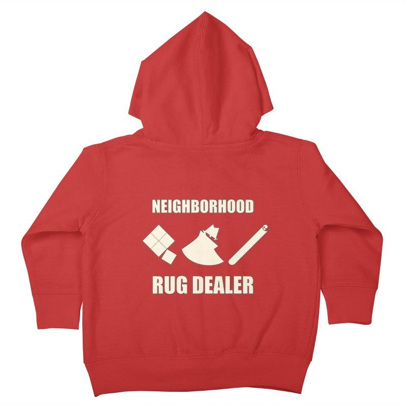 Neighborhood Rug Dealer Kids Toddler Zip-Up Hoody by The Agora