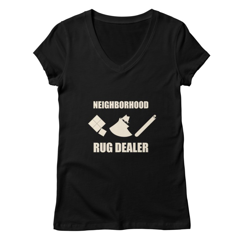 Neighborhood Rug Dealer Women's V-Neck by The Agora