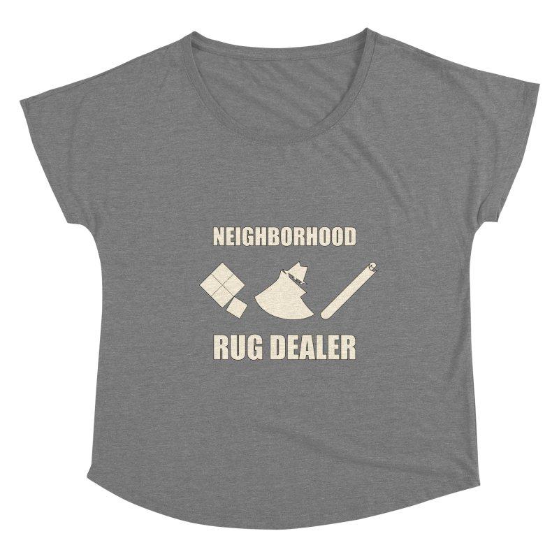 Neighborhood Rug Dealer Women's Scoop Neck by The Agora