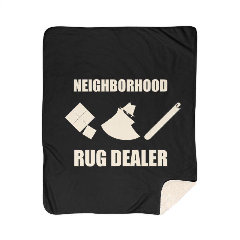 Neighborhood Rug Dealer Home Blanket by The Agora