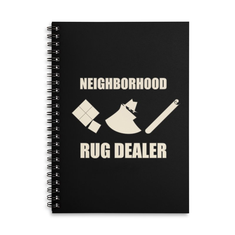 Neighborhood Rug Dealer Accessories Notebook by The Agora