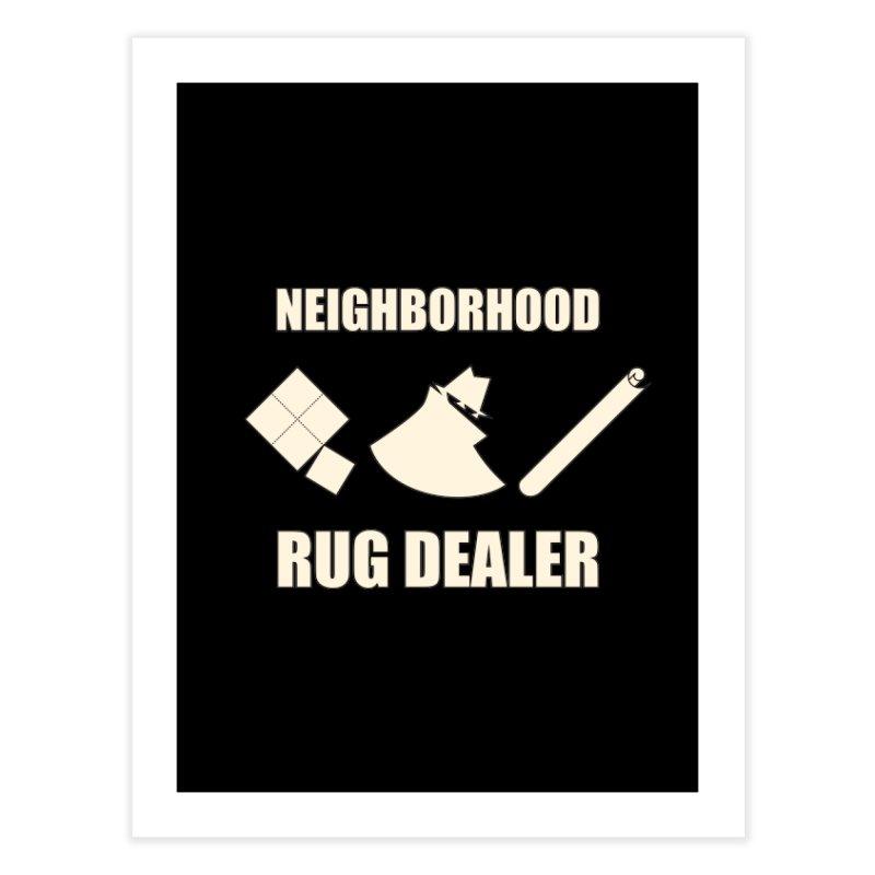 Neighborhood Rug Dealer Home Fine Art Print by The Agora