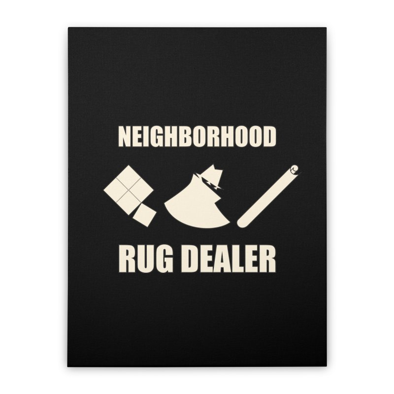 Neighborhood Rug Dealer Home Stretched Canvas by The Agora