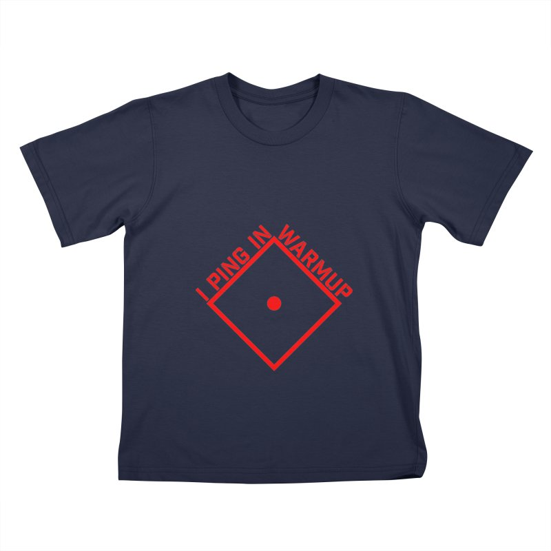 Warm Up Kids T-Shirt by The Agora