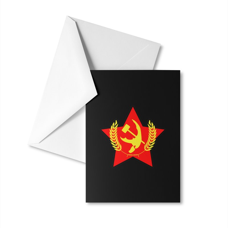Crabunism Accessories Greeting Card by The Agora