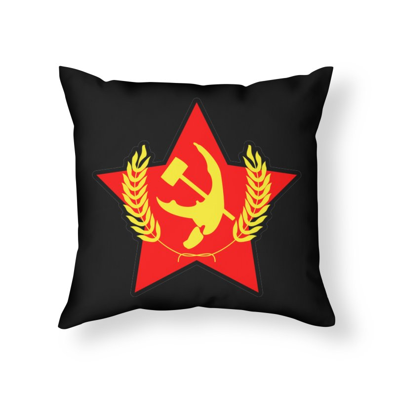 Crabunism Home Throw Pillow by The Agora