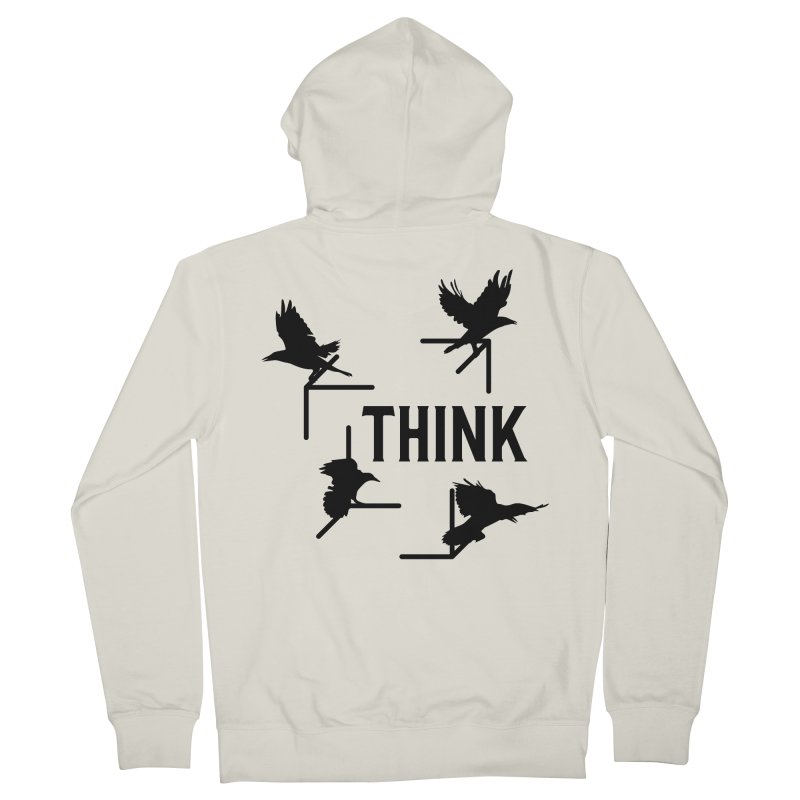 Think Men's Zip-Up Hoody by The Agora