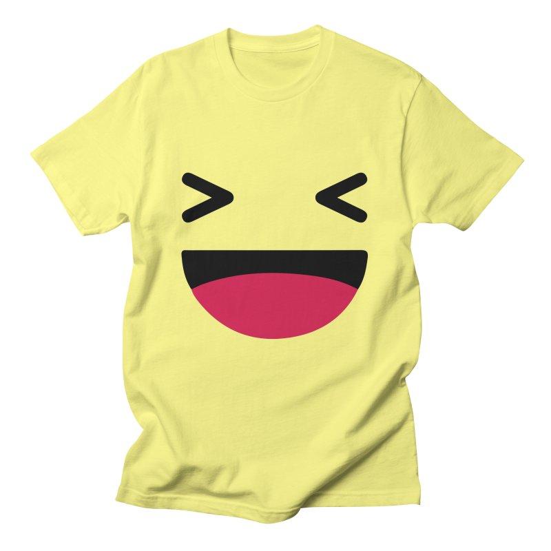 Haha Men's T-Shirt by The Agora