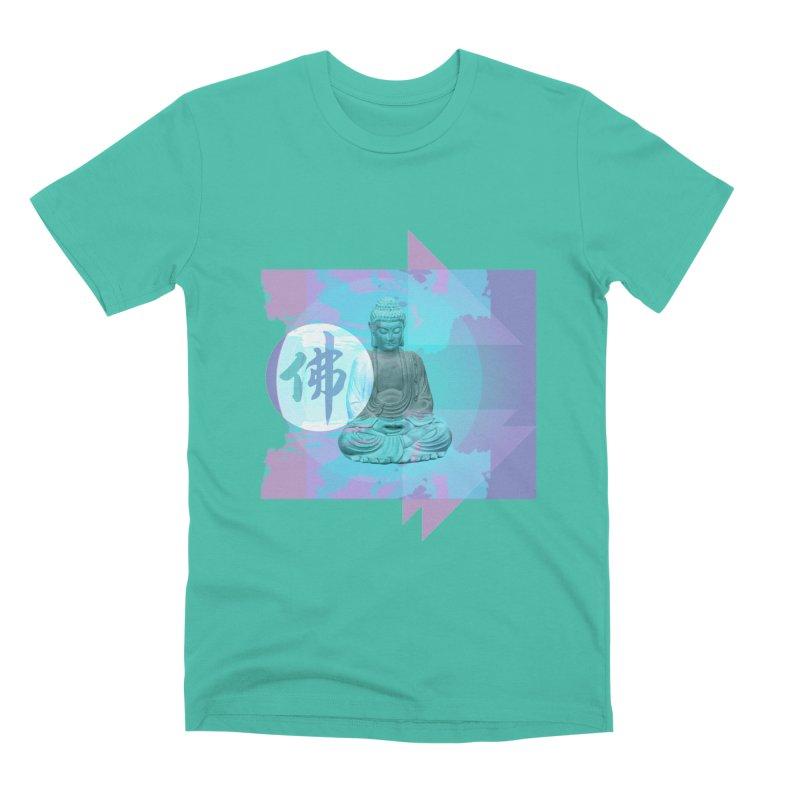 Vapor Bodhi in Men's Premium T-Shirt Sea Green by The Agora